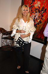 BEVERLEY BLOOM at the opening of the Opera Gallery in London, 134 New Bond Street, London W1 on 29th September 2005.<br />