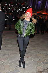 ELLIE GOULDING at the opening of the 2012 Somerset House Ice Rink on 15th November 2012.
