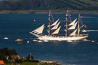 Norway, Randaberg. Tall Ships Race in Stavanger 2011. Statsraad Lehmkuhl.
