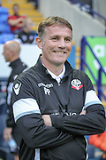Phil Parkinson (Manager) (Bolton Wanderers) before the Pre-Season Friendly match between Bolton Wanderers and Burnley at the Macron Stadium, Bolton, England on 26 July 2016. Photo by Mark P Doherty.