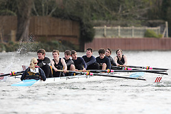 2012.02.25 Reading University Head 2012. The River Thames. Division 1. Southampton University Boat Club B IM3 8+