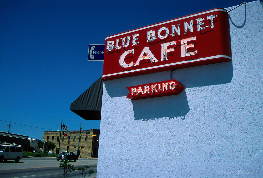Blue Bonnet Cafe, Marble Falls, Texas
