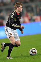03.03.2010, Allianz Arena Muenchen, Muenchen, GER,  Laenderspiel Deutschland ( GER ) - Argentinien ( ARG ) 0 - 1. Im Bild Toni Kroos ( GER / Leverkusen #26 ). EXPA Pictures © 2010, PhotoCredit: EXPA/ nph/  Kurth / for Slovenia SPORTIDA PHOTO AGENCY.