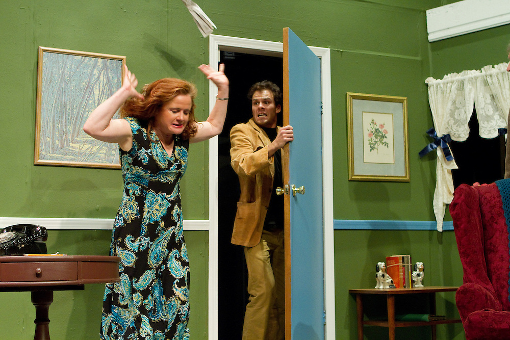 "Dreamweavers Theatre presents Ray Cooney's ""Run For Your Wife,"" Directed by Anthony DePaolo. Photo © Mike Padua"