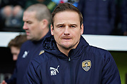 Notts County Manager Neal Ardley before the EFL Sky Bet League 2 match between Notts County and Mansfield Town at Meadow Lane, Nottingham, England on 16 February 2019.