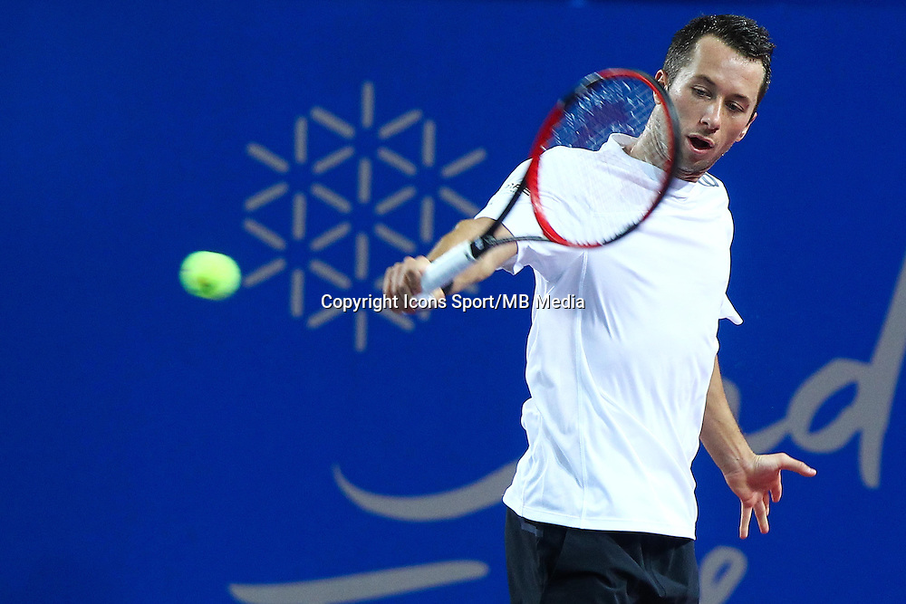 PHILIPP KOHLSCHREIBER - 06.02.2015 - Tennis - Open Sud de France2015- Montpellier <br />Photo : Andre Delon / Icon Sport
