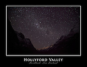 Hollyford Valley, Fiordland, New Zealand (22x17-inch print)