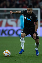 December 13, 2018 - Seville, Andalucia, Spain - Wanderson of Krasnodar drive the ball during the Europa League match between Sevilla FC and Krasnodar in Ramón Sánchez Pizjuán Stadium (Seville) (Credit Image: © Javier MontañO/Pacific Press via ZUMA Wire)