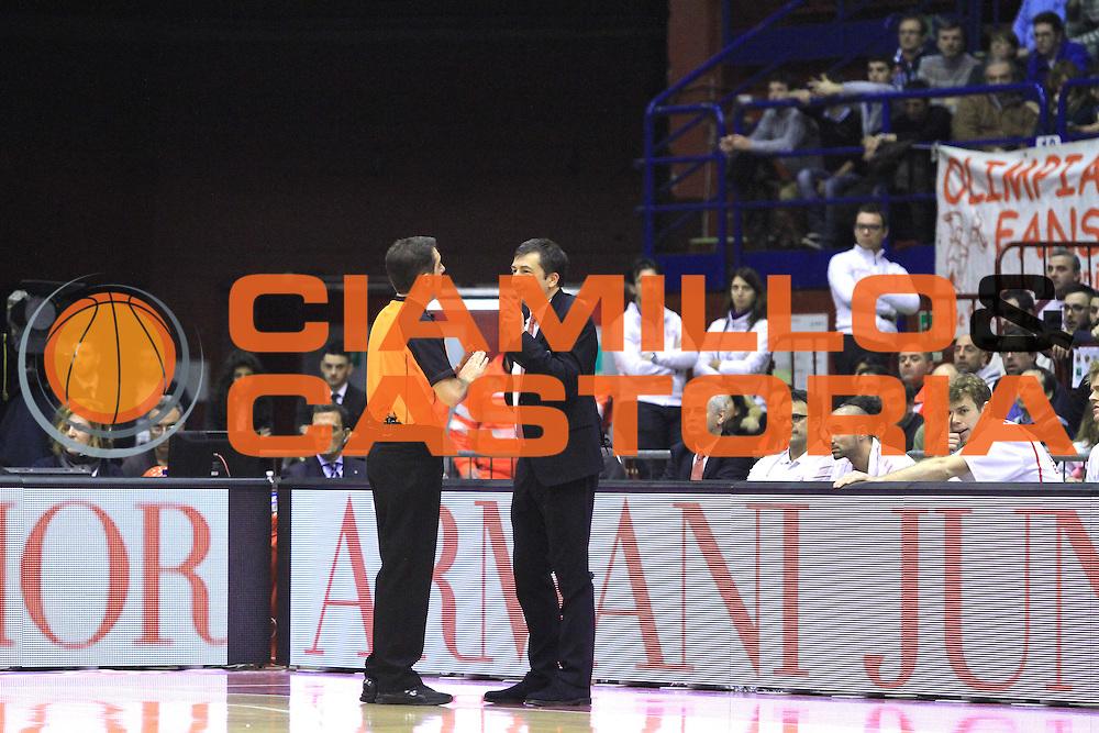 DESCRIZIONE : Milano Euroleague 2013-14 EA7 Emporio Armani Milano Fenerbahce Ulker Istanbul<br /> GIOCATORE : Luca Banchi<br /> CATEGORIA : Ritratto<br /> SQUADRA :  EA7 Emporio Armani Milano<br /> EVENTO : Eurolega Euroleague 2013-2014 GARA : EA7 Emporio Armani Milano Fenerbahce Ulker Istanbul<br /> DATA : 30/01/2014<br /> SPORT : Pallacanestro <br /> AUTORE : Agenzia Ciamillo-Castoria/I.Mancini<br /> Galleria : Eurolega Euroleague 2013-2014 <br /> Fotonotizia : Milano Eurolega Euroleague 2013-14 EA7 Emporio Armani Milano Fenerbahce Ulker Istanbul<br /> Predefinita