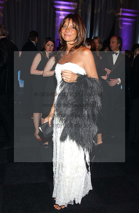 COUNTESS DEBONAIRE VON BISMARCK  at the Conservative Party's Black & White Ball held at Old Billingsgate, 16 Lower Thames Street, London EC3 on 8th February 2006.<br /><br />NON EXCLUSIVE - WORLD RIGHTS