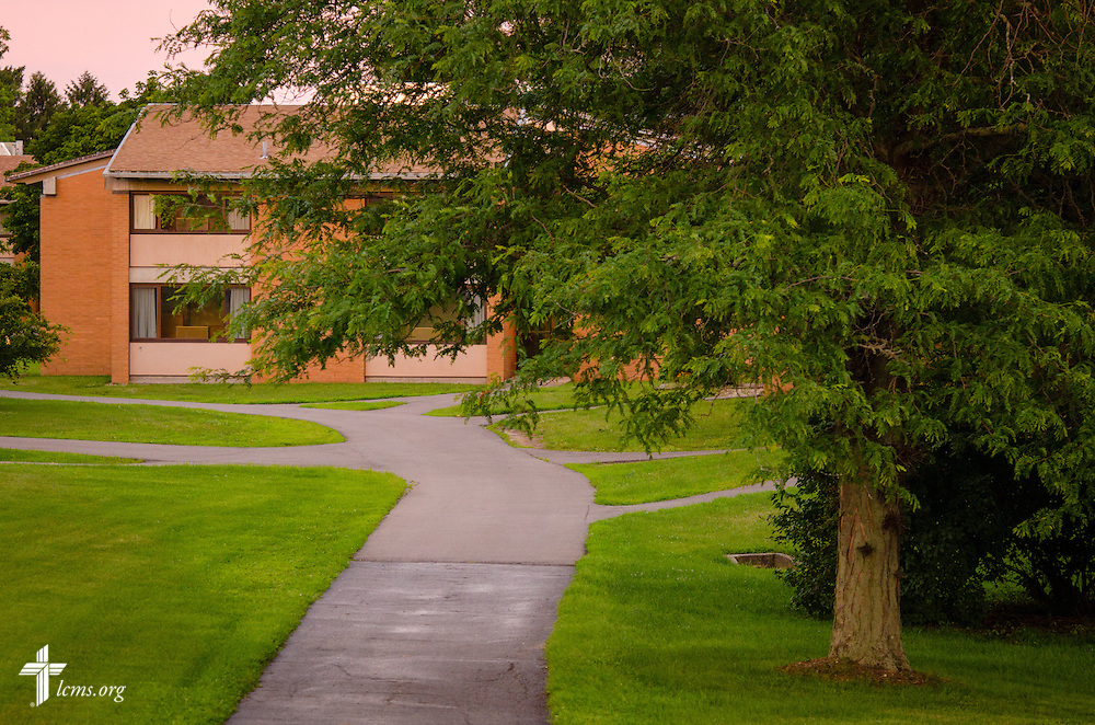 A photograph of the East Campus residence halls at Concordia University Ann Arbor on Wednesday, July 2, 2014, in Ann Arbor, Mich. LCMS Communications/Erik M. Lunsford