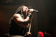Sevendust performing at the Newport Music Hall in Columbus, OH on July 12, 2011