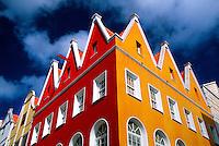 Dutch architecture, Punda section of Willemstad
