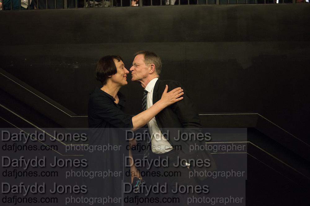 CORNELIA PARKER; SIR NICHOLAS SEROTA The £100,000 Art Fund Prize for the Museum of the Year,   Tate Modern, London. 1 July 2015