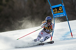 DUERR Lena of Germany competes during the Ladies' GiantSlalom at 56th Golden Fox event at Audi FIS Ski World Cup 2019/20, on February 15, 2020 in Podkoren, Kranjska Gora, Slovenia. Photo by Matic Ritonja / Sportida