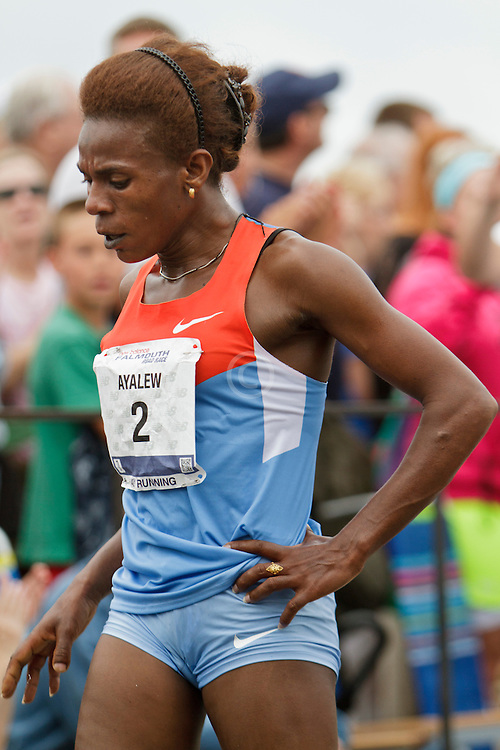 Falmouth Road Race, Wude Ayalew