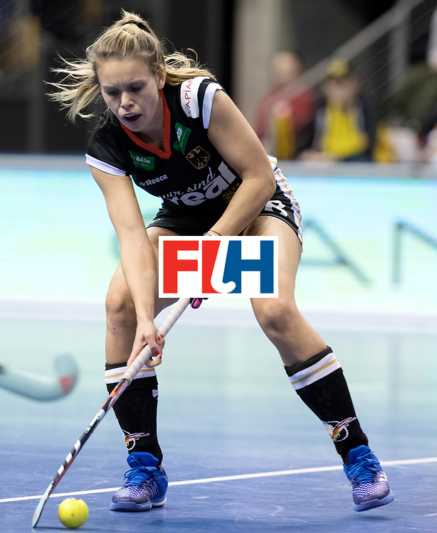 BERLIN - Indoor Hockey World Cup<br /> Quarterfinal 3: Germany - Poland<br /> foto: Anne Schroeder.<br /> WORLDSPORTPICS COPYRIGHT FRANK UIJLENBROEK