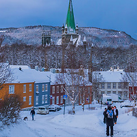 www.aziznasutiphotography.com                                   This picture has been taken after several days of snow in Trondheim.