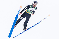 February 8, 2019 - Lahti, Finland - Alessandro Pittin competes during Nordic Combined, PCR/Qualification at Lahti Ski Games in Lahti, Finland on 8 February 2019. (Credit Image: © Antti Yrjonen/NurPhoto via ZUMA Press)