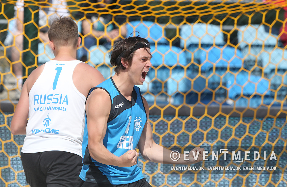 Medal Matches at the Junior European Beach Handball Championship 2017 in Jarun Beach, Zagreb, Croatia, 18.06.2017. Photo Credit: Søren T. Larsen/Allan Jensen/EVENTMEDIA.