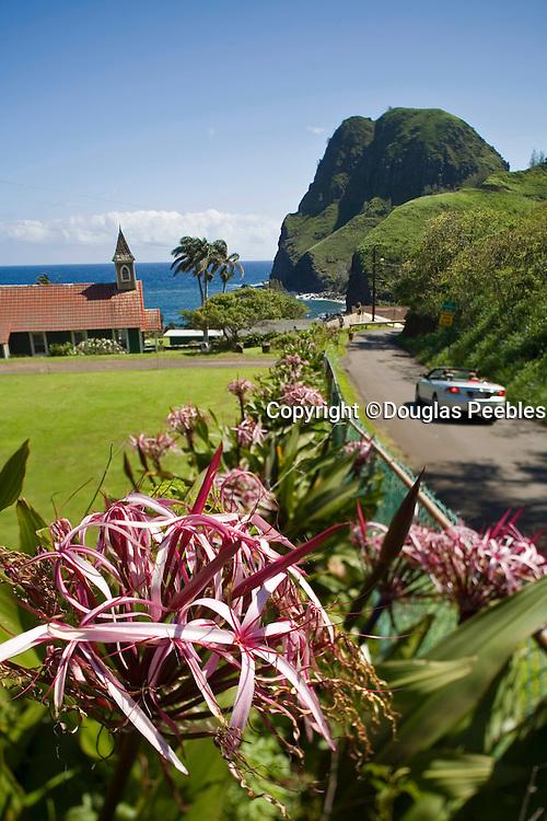 Hawaiian church, Kahakuloa, Maui, Hawaii