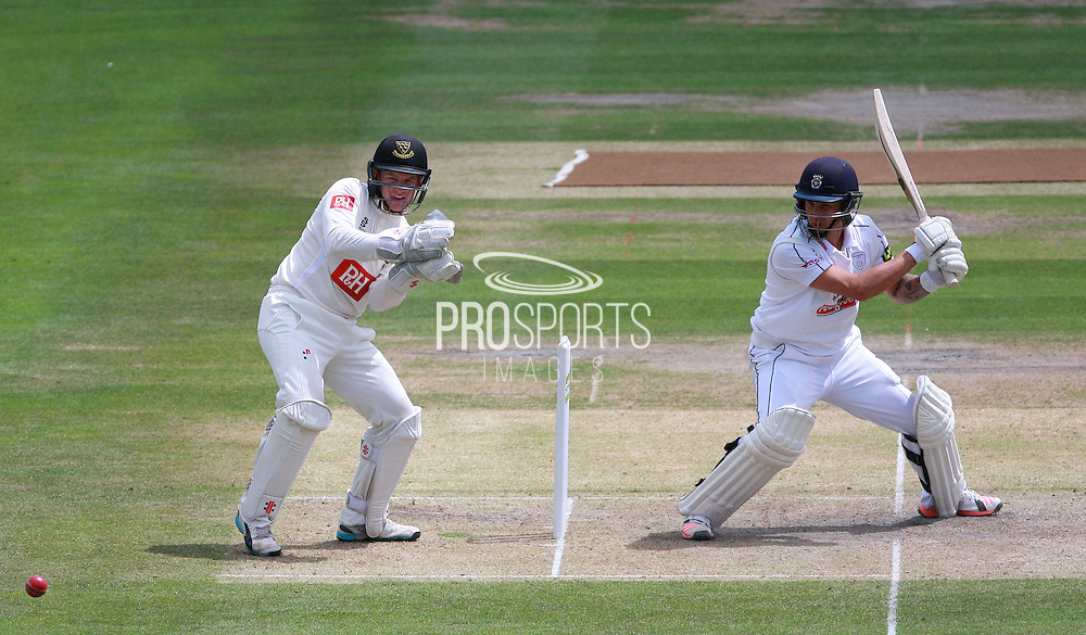 Hampshire batsman Gareth Berg during the LV County Championship Div 1 match between Sussex County Cricket Club and Hampshire County Cricket Club at the BrightonandHoveJobs.com County Ground, Hove, United Kingdom on 8 June 2015. Photo by Bennett Dean.