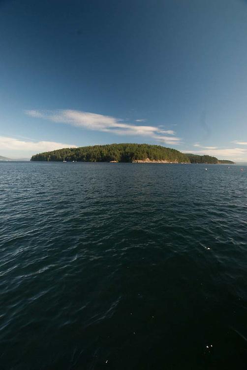 Obstruction Island, San Juan Islands, Washington, US
