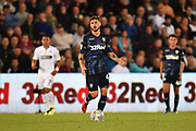 Adam Forshaw (4) of Leeds United during the EFL Sky Bet Championship match between Swansea City and Leeds United at the Liberty Stadium, Swansea, Wales on 21 August 2018.