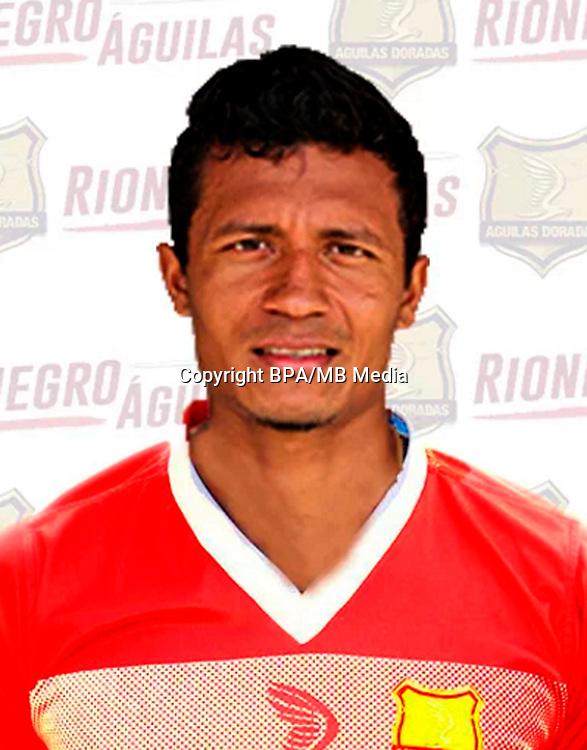Colombia League - Liga Aguila 2016-2017 / <br /> Rionegro Aguilas Doradas - Colombia - <br /> Luis Mosquera