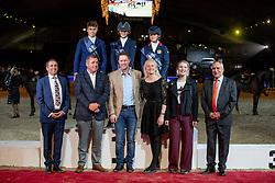 Power Katie, Red Morgan, Lockhead Anderson Nicole<br /> Vlaanderens Kerstjumping - Memorial Eric Wauters - Mechelen 2018<br /> © Hippo Foto - Dirk Caremans<br /> 30/12/2018