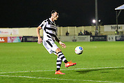 Forest Green Rovers Kieffer Moore(14) during the Vanarama National League match between Solihull Moors and Forest Green Rovers at the Automated Technology Group Stadium, Solihull, United Kingdom on 25 October 2016. Photo by Shane Healey.