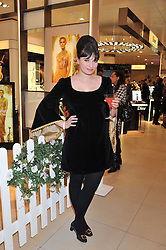 GIZZI ERSKINE at the launch of the new John Lewis Beauty Hall, John Lewis, Oxford Street, London on 8th May 2012.