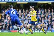 Scunthorpe's JamieNess on the ball during the The FA Cup third round match between Chelsea and Scunthorpe United at Stamford Bridge, London, England on 10 January 2016. Photo by Shane Healey.