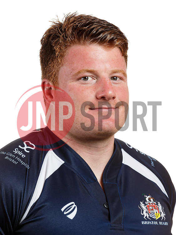 Kyle Traynor of Bristol Rugby poses for a head shot ahead of the 2015/16 Greene King IPA Championship season - Mandatory byline: Rogan Thomson/JMP - 07966 386802 - 04/08/2015 - RUGBY UNION - Clifton Rugby Club - Bristol, England - Bristol Rugby Head Shots.