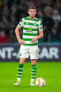 Ryan Christie (#17) of Celtic FC during the Europa League group stage match between Celtic and RP Leipzig at Celtic Park, Glasgow, Scotland on 8 November 2018.