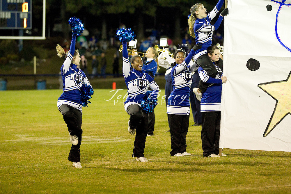 October/22/10:  MCHS Varsity Football vs George Mason.  Madison wins 20-7.  Touchdowns by Rashad Bolden and Travis Warren in the first half off passes from Dustin Farmer.  Farmer scores on a quarterback keeper in the second half.