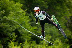Maximillian Lienher from Austria during Ski Jumping Continental Cup Kranj 2018, on July 8, 2018 in Kranj, Slovenia. Photo by Urban Urbanc / Sportida