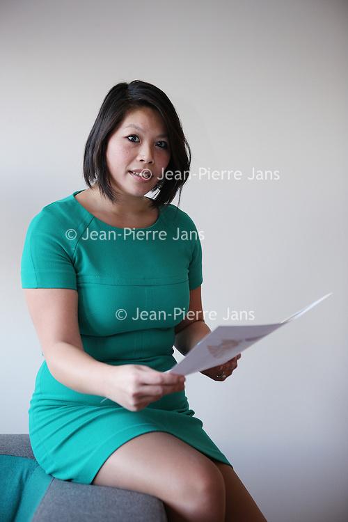 Nederland, Amsterdam , 8 december 2014.<br /> ChiMei Tao, Recruitment Marketing Officer<br /> VU medisch centrum<br /> <br /> Foto:Jean-Pierre Jans