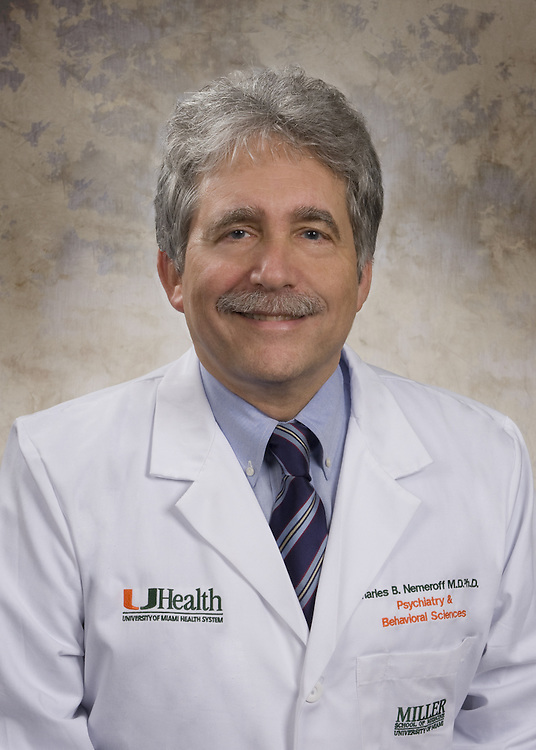Charles B. Nemeroff M.D. Ph.D.<br /> Psychiatry &amp; Behavioral Sciences