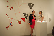 CATALINA MARCH; BEATRICE ORDOVAS;  Pilar Ordovas hosts a Summer Party in celebration of Calder in India, Ordovas, 25 Savile Row, London 20 June 2012