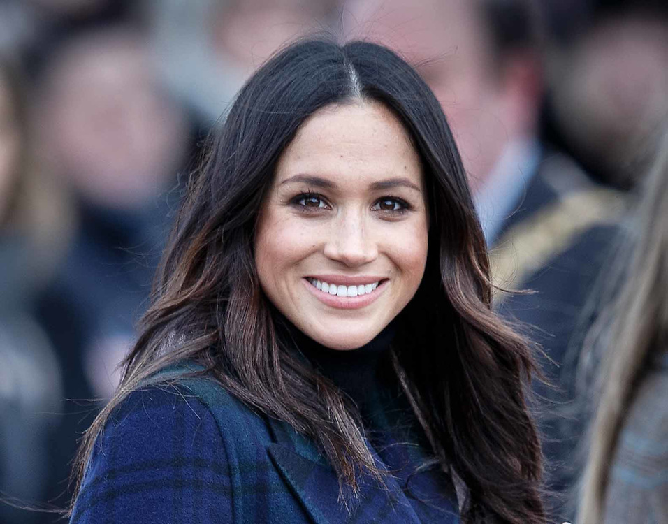 Britain's Prince Harry and his fiancee Ms. Meghan Markle during a visit to Edinburgh Castle, Edinburgh on their first official joint visit to Scotland. 13 February 2018. EPA-EFE/ROBERT PERRY