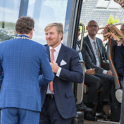 NLD/Hoogeveen/20190918 - Koningspaar brengt bezoek Zuid-west Drenthe, Koning Willem Alexander