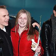 Start Starmaker Almere, Hessel en Lieke van Duppen en Ruben Gezinge