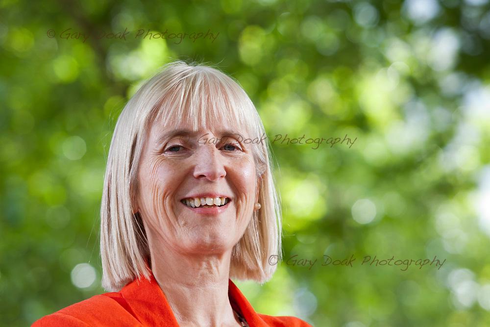 Sheila Szatkowski, the historian and writer, appearing at the Edinburgh International Book Festival. Edinburgh, Scotland.<br /> 13th August 2017<br /> Picture by Gary Doak