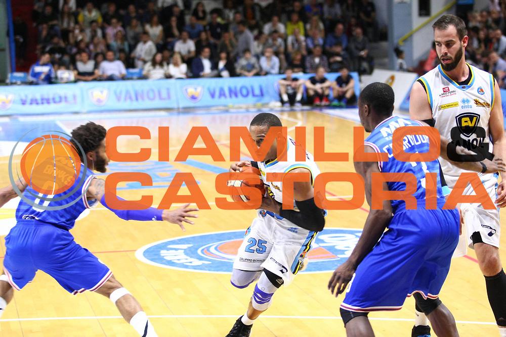 Cremona 04 Maggio  2016<br /> Basket Serie A<br /> Vanoli Cremona- Enel Brindisi<br /> Nella foto: Tyrus McGee<br /> foto F.Zovadelli/Ciamillo