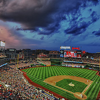01 August 2012:  A 8 frame HDR image shot at Nationals Park in Washington, D.C. where the Philadelphia Phillies defeated the Washington Nationals, 3-2.