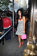 Katy Perry at The 2010 Mercedes Benz Fashion Week in front of The Bryant Park Hotel on September 14, 2009 in Nw York City