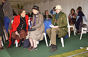 Catherine Viscountess Macmillan, Lady and Lord Plymouth. Ludlow Charity Race Day,  in aid of Action Medical Research. Ludlow racecourse. 24 march 2005. ONE TIME USE ONLY - DO NOT ARCHIVE  © Copyright Photograph by Dafydd Jones 66 Stockwell Park Rd. London SW9 0DA Tel 020 7733 0108 www.dafjones.com