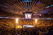 The Golden State Warriors host the San Antonio Spurs during Game 2 of the Western Conference Quarterfinals at Oracle Arena in Oakland, Calif., on April 16, 2018. (Stan Olszewski/Special to S.F. Examiner)