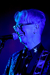 08 November 2014. New Orleans, Louisiana. <br /> 2014 International Irish Famine Commemoration, Gallier Hall.<br /> Larry Kirwan, lead singer of Irish band 'Black 47.' <br /> Photo; Charlie Varley/varleypix.com